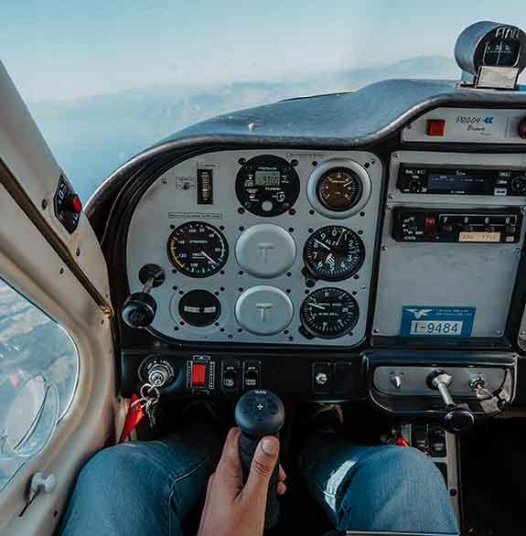 allievo pilota aereo ultraleggero