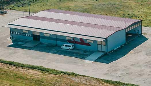 Hangar coperto di 1500 mq - Sibarifly