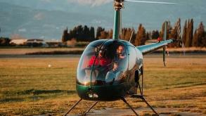 battesimo del volo in elicottero